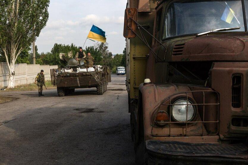 украинская армия АТО  снайперы