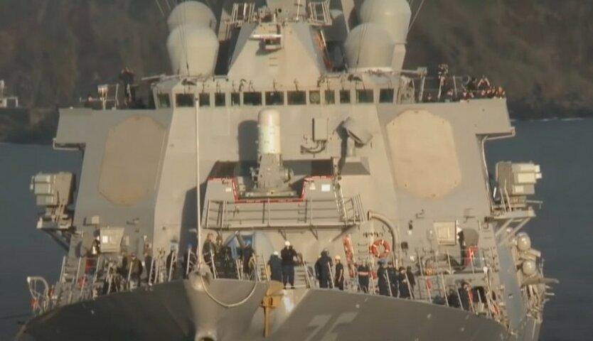 Россия устроила провокацию против эсминца США в Черном море