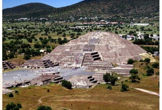 тоннель пирамида
