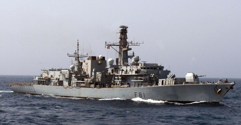 Фрегат типа 23 HMS Sutherland
