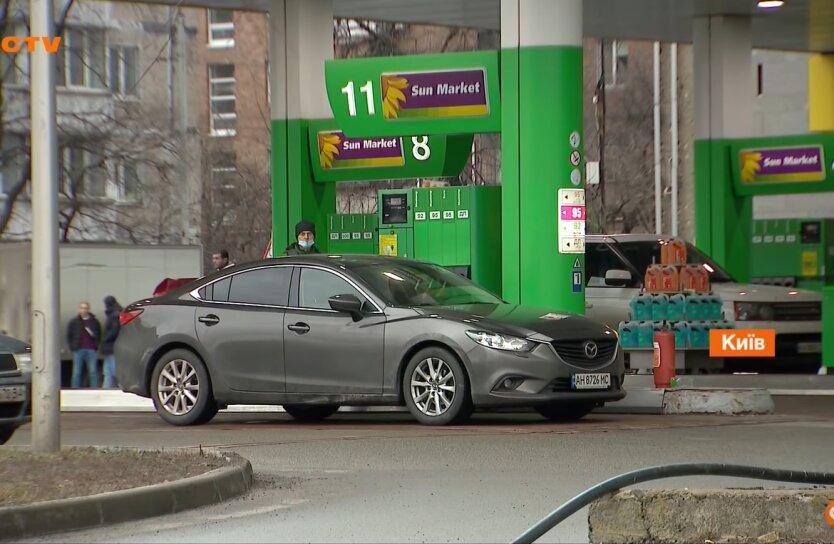Бензин в Украине, цены на бензин, крупные сети АЗС