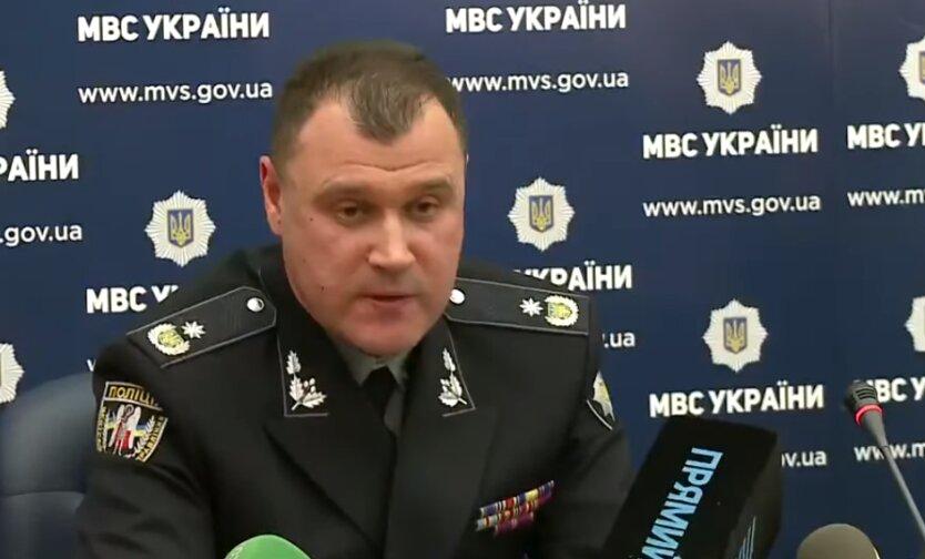 глава Национальной полиции Игорь Клименко