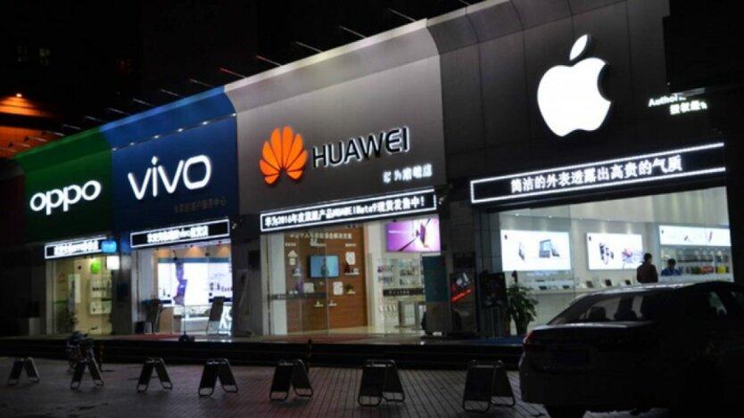 Xiaomi, Huawei, Oppo и Vivo