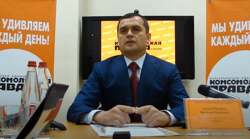 Виталий Захарченко, разведка
