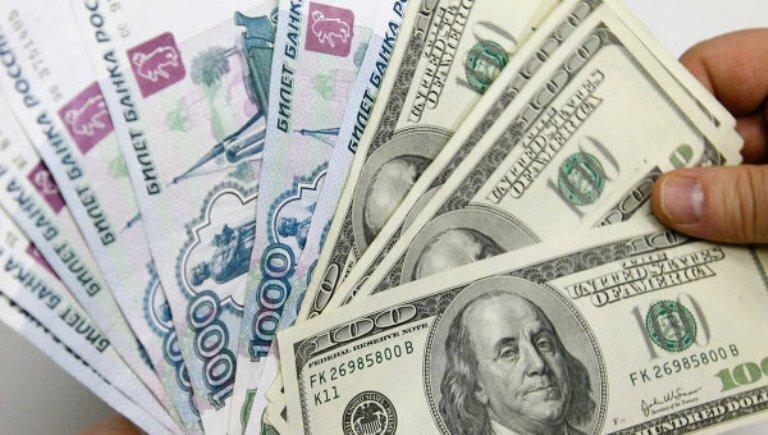 рубли_доллары