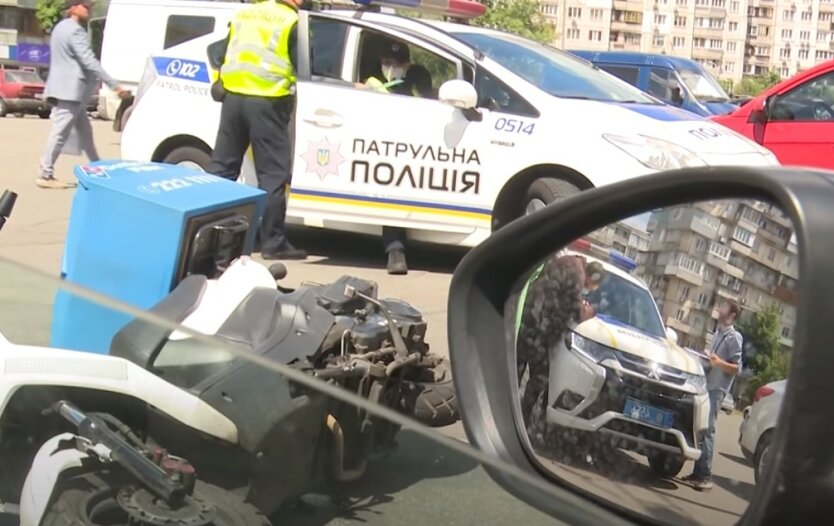 Гонка с полицией в Киеве, Нарушение ПДД в Киеве, Штраф за нарушение ПДД