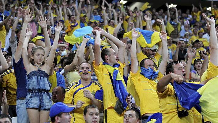 фанаты украина футбол