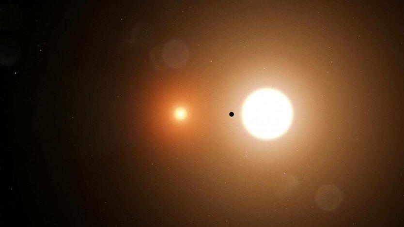 Планета с двумя Солнцами