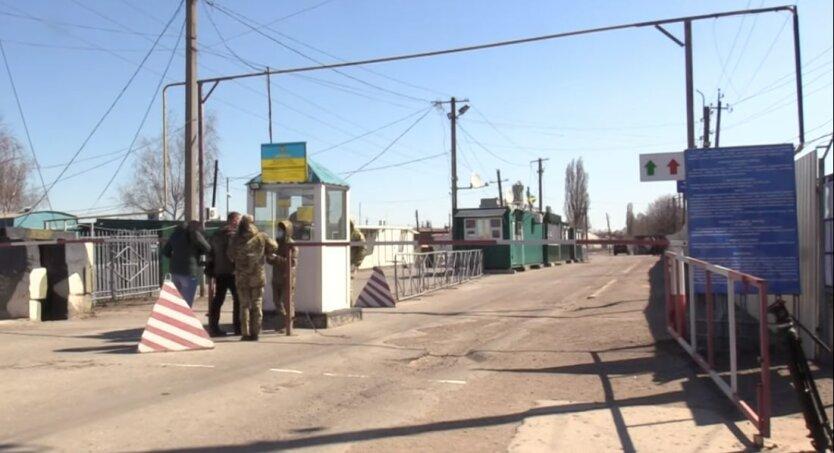 КПВВ в Станице Луганской, карантин в украине