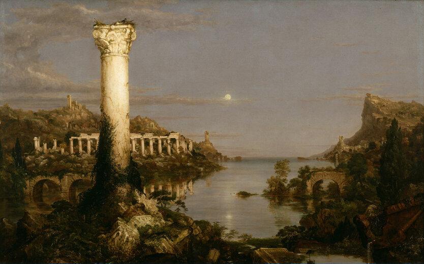 Cole Thomas The Course of Empire Desolation