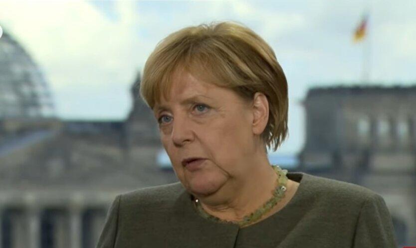 Ангела Меркель, санкции США, российский газопровод