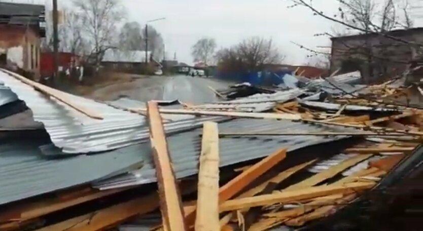 Последствия урагана в России, ураган в Башкирии