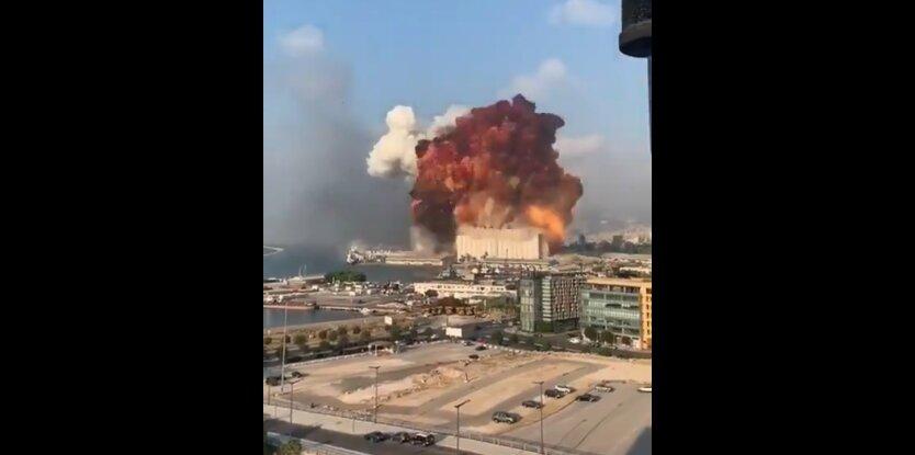 В Бейруте произошел мощнейший взрыв: все видео