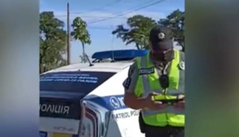 Полиция остановила карету скорой помощи