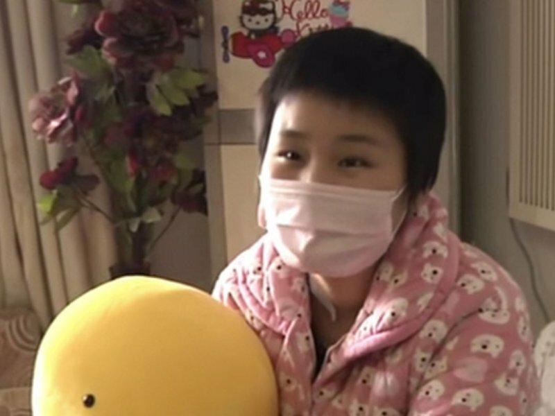 китайская студентка