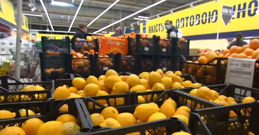Украина, лимоны, имбирь, чеснок, коронавирус