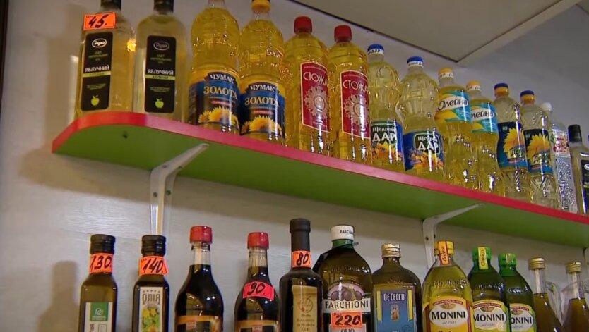Подсолнечное масло, Украина, цены