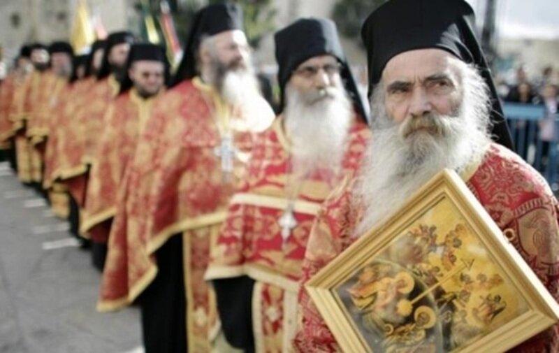 греческие священники