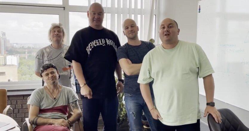 """Кошевой, Ткач и Великий позвали украинцев на шоу """"Квартал 95"""""""