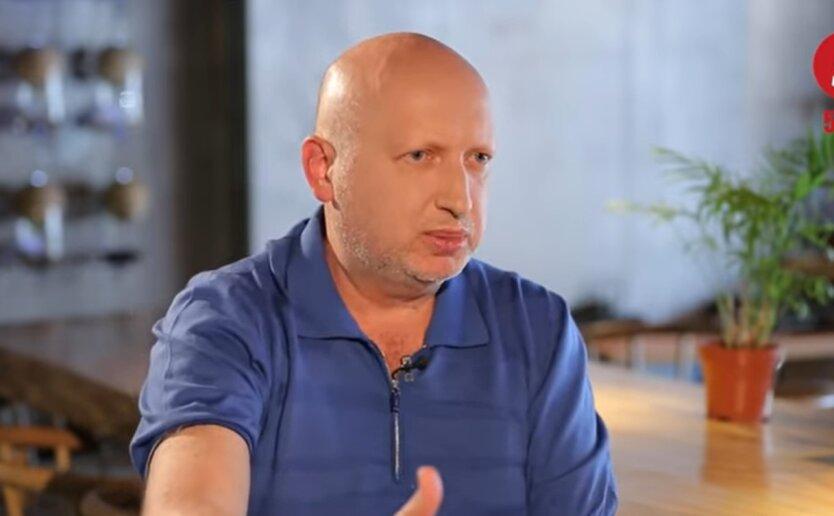 Александр Турчинов, захват Крыма, Россия