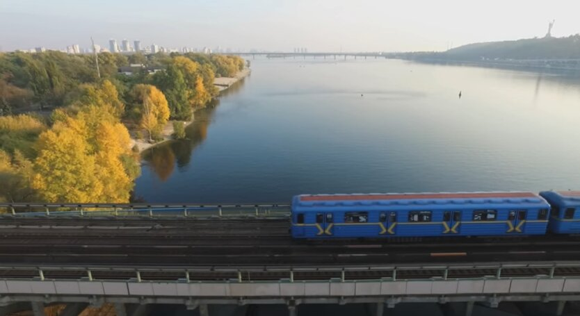 Мост Метро, Киев