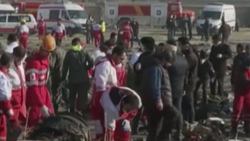 Сбитый в Иране самолет МАУ