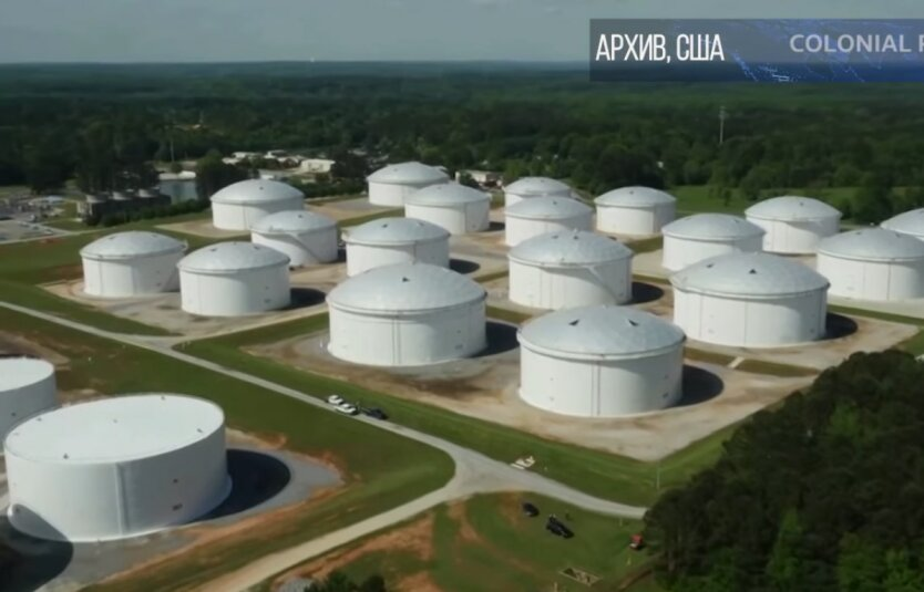 Трубопровод в США, закерская атака, трубопровод Colonial Pipelinе