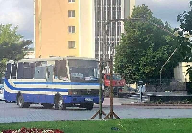 Луцк, автоюбус с заложниками, террорист