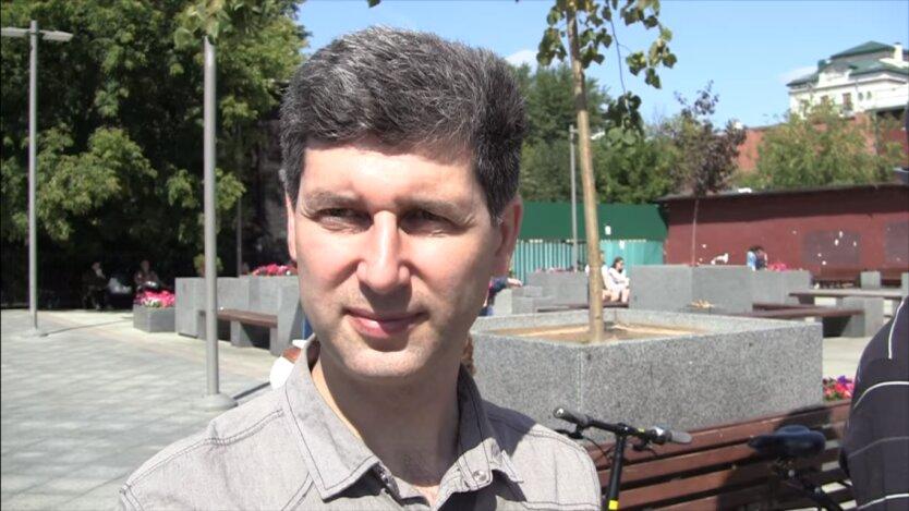 Украинский блогер Михаил Шнайдер