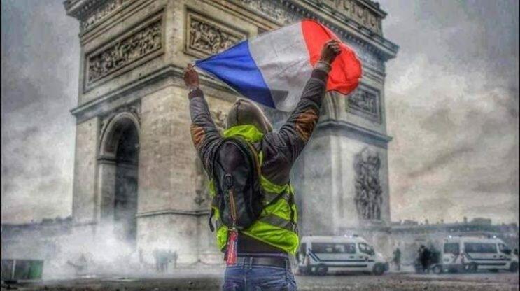 протесты во франции 2