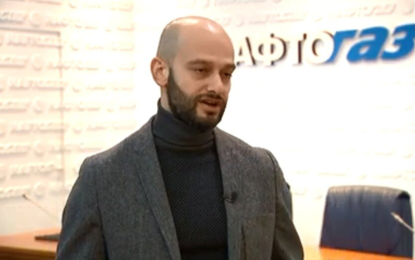 """Директор НАК """"Нафтогаза Украины"""" Максим Рабинович"""