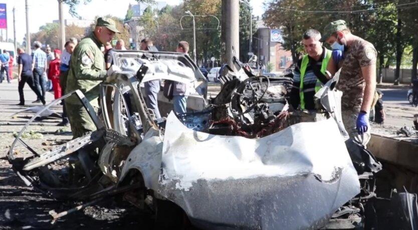 Взрыв авто, Днепр, теракт