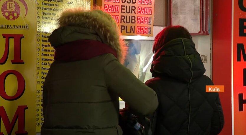 Курс валют, Украина, гривна