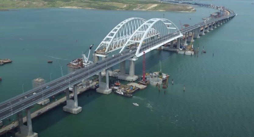 Керченский мост, санкции