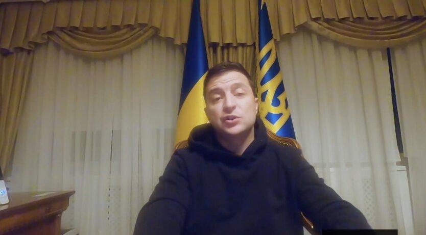 Владимир Зеленский в Феофании