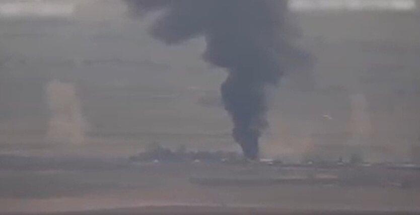 Уничтожение базы горюче-смазочных материалов, Азербайджан, Армения