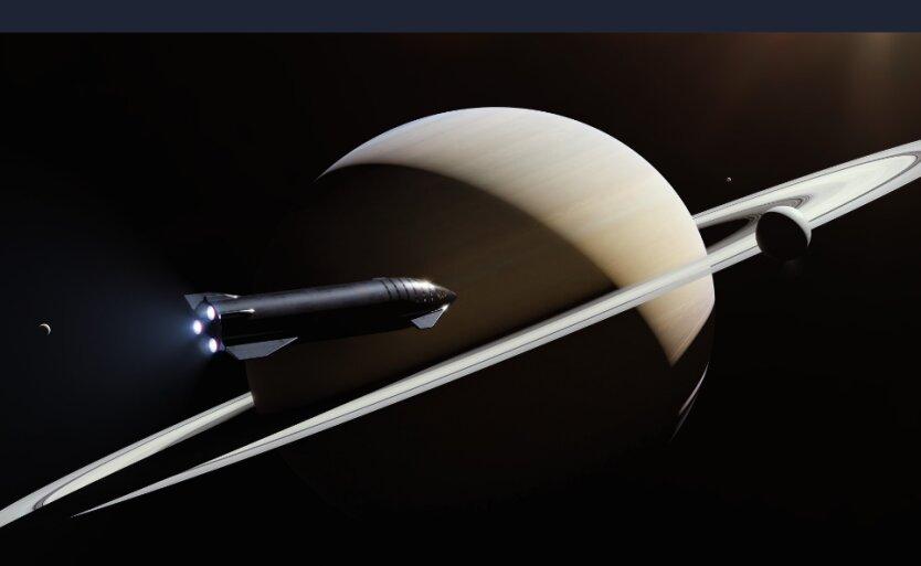 Маск представил корабль для полетов на Луну и Марс