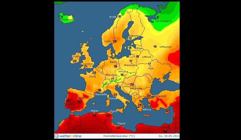Синоптик дала прогноз погоды на День Киева и выходные в Украине