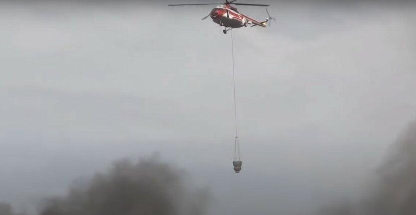 пожары в Украине,в Украине горят леса,пожар в зоне отчуждения ЧАЭС,пожар в Обуховском районе