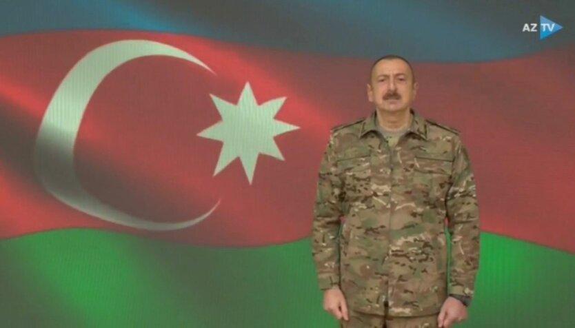 Ильхам Алиев, азербайджан армения конфликт, нагорный карабах