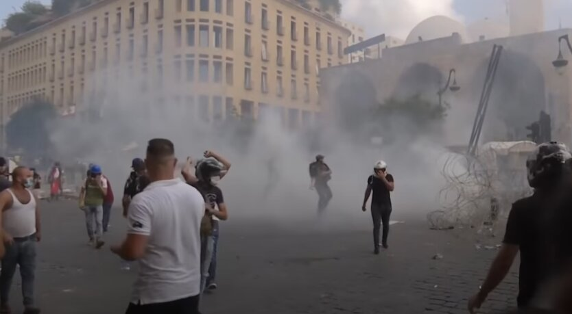 Бейрут, протесты