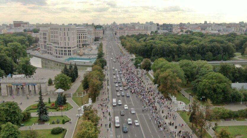 Митинги в Беларуси