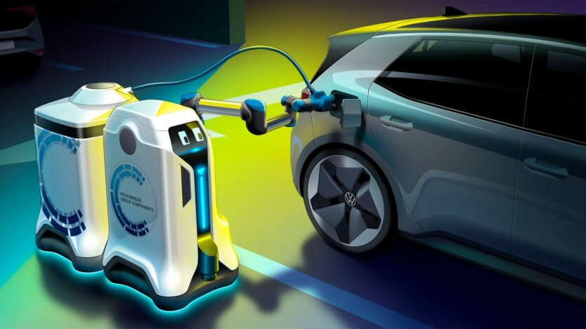 Mobile Charging Robot