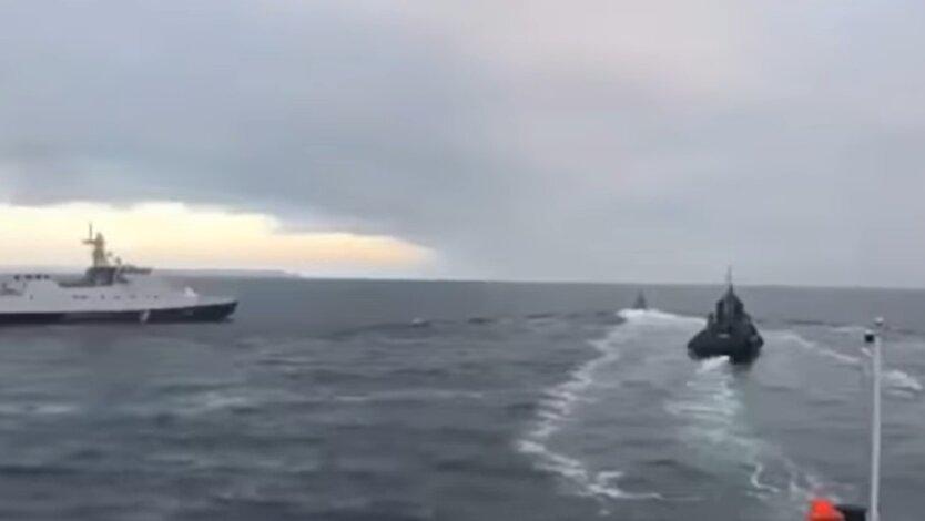 обстрелы кораблей