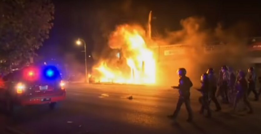 Беспорядки в США,губернатор Калифорнии Гэвин Ньюсом,чрезвычайное положение в Калифорнии