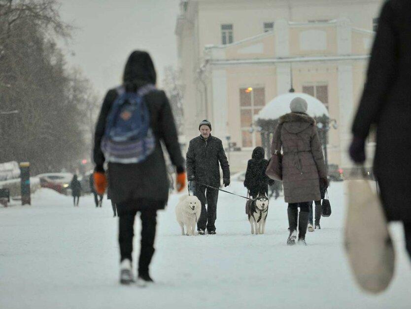 Погода в Украине, прогноз погоды, похолодание и снег
