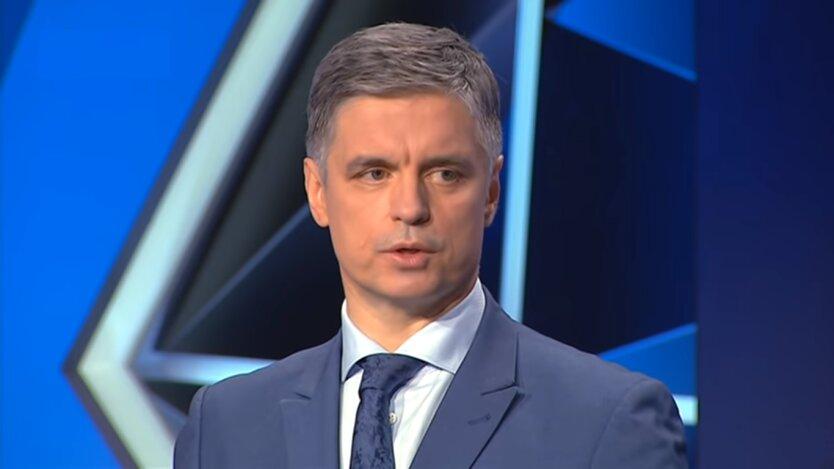 Глава Министерства иностранных дел Украины Вадим Пристайко