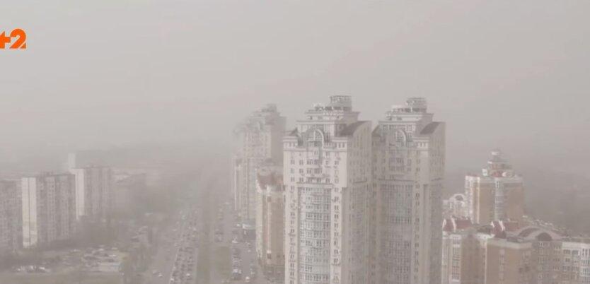 Воздух в Киеве, антирейтинг, самый грязный воздух