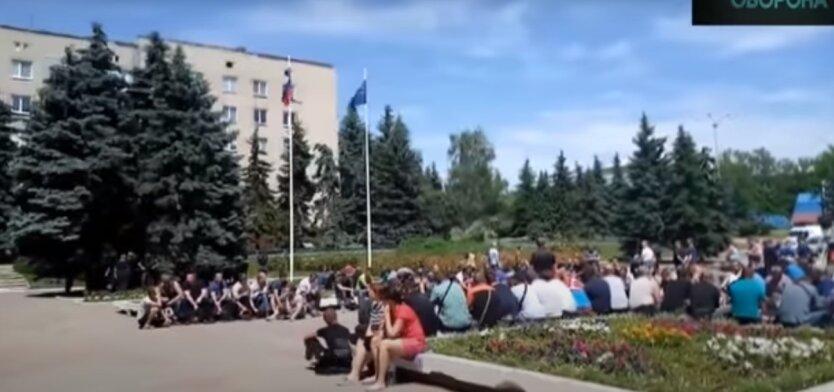 Оккупированные территории, русский язык, Украина