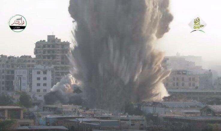 взрыв в Алеппо